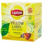 Чай чорний Lipton Yellow Label Ексклюзив в пірамідках 20шт*1,8г