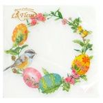 Серветки La Fleur 33*33см 20шт Art.L252302 х20