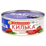 Kaija Fried Sprats in Tomato Sauce with Paprika 240g