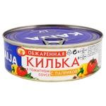 Килька Kaija обжаренная в томатном соусе с паприкой 240г