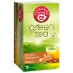 Teekanne Ginger-Cinnamon green tea 20pcs 1,75g