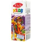 Нектар Rich Kids персиковий з м'якоттю пастеризований 0,2л