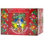 Чайний набір Поліський чай Український сувенір пакетований 72шт