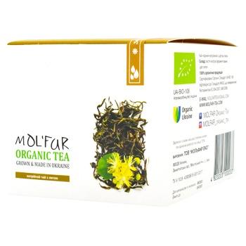 Чай Mol'far черный киприйний с цветком липы органический 50г