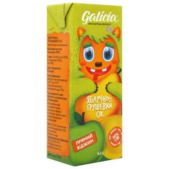 Galicia apple-pear juice 0,2l
