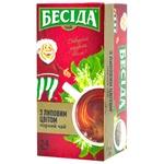 Чай Беседа крепкий черный с липовым цветом 24пак*1,5г