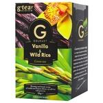 Чай зелений G'tea! Gourmet ваніль-дикий рис 20*1,75г