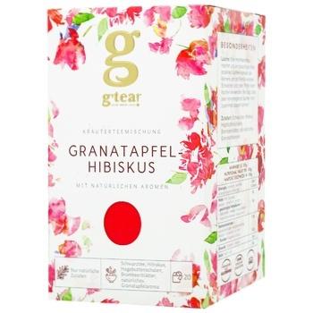 Чай Grace! Гранатовое каркаде травяная смесь 20*1.75г - купить, цены на ЕКО Маркет - фото 1