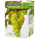 Вино Alianta Vin Шардоне белое сухое bag-in-box 12% 3л