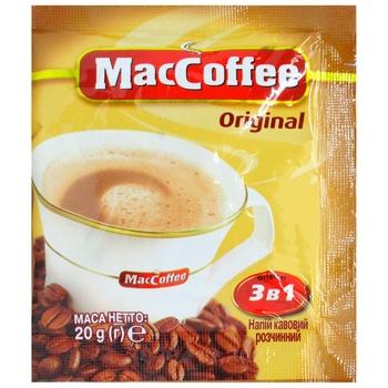 Напиток кофейный Маккофе 3в1 ориджинал растворимый в стиках 20г