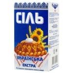 Сіль Слов'янська Екстра кухонна виварна 1кг