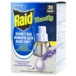 Жидкость Raid от комаров для электрофумигатора 30 ночей Лаванда 22г