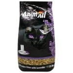 Наполнитель гигиенический AnimAll древесный лаванда 2.8кг