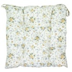 Provence Pillow on Chair Yellow 40x40cm