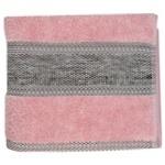 Рушник Saffran Fluffy махровий 50х85см рожевий