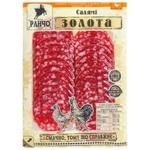 Ковбаса Ранчо Салямі Золота нарізка сирокопчена перший сорт 75г