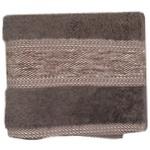 Рушник Saffran Fluffy махровий 50х85см коричневий