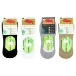 Шкарпетки-сліди бамбукі ассорт.