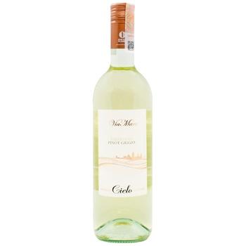 Вино Cielo Trebbiano Pinot Grigio біле сухе 0.75л х6