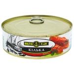 Кілька Baltic Fish обсмажена в томатному соусі 240г х24