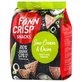 Снек Finn Crisp из цельнозерновой муки со вкусом лука и сметаны 150г - купить, цены на Восторг - фото 2