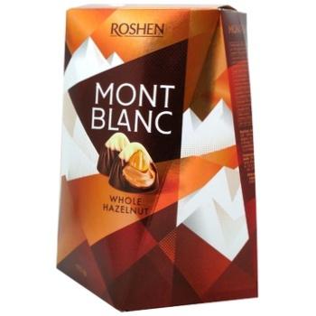 Roshen Mont Blanc Сandies with Whole Hazelnut 177g - buy, prices for CityMarket - photo 2