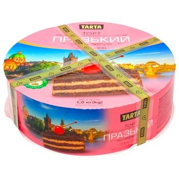 Tarta Prague Сake with Сherries 1kg - buy, prices for MegaMarket - photo 1