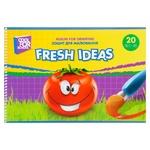 Альбом Cool For School Fresh Ideas для малювання на спіралі 20 аркушів