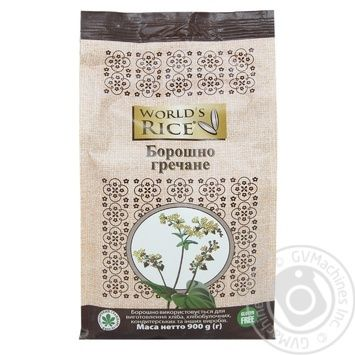 World's Rice buckwheat flour 900g - buy, prices for Novus - image 1