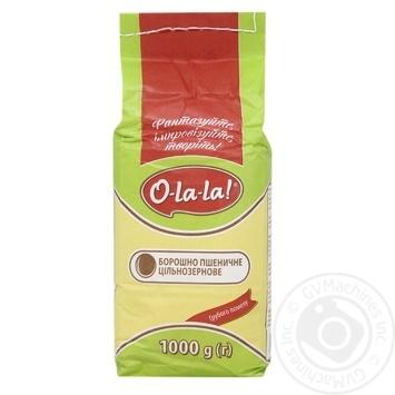 Борошно O-La-la Пшеничне 1кг - купити, ціни на УльтраМаркет - фото 1