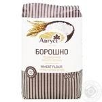 Мука Август пшеничная высший сорт 1кг - купить, цены на МегаМаркет - фото 1