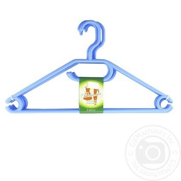 Вішалка для одягу 5шт колір в асортименті - купити, ціни на МегаМаркет - фото 2