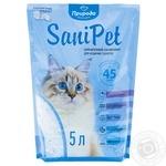 Наполнитель гигиенический Природа Sani Pet для котов силикагелевый 5л