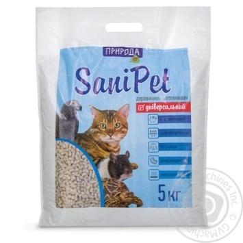 Наповнювач SANI PET універсальний 5кг х4 - купити, ціни на МегаМаркет - фото 1