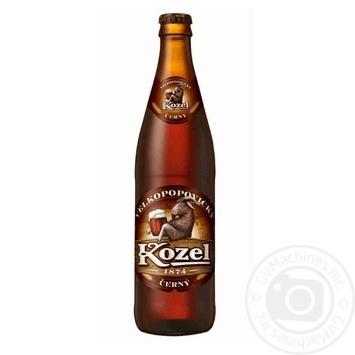 Пиво Velkopopovicky Kozel темное 3,7% 0,45л