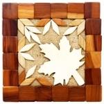 Kvinstar Wooden Stand Insert-leaf