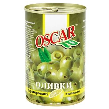 Oscar Olives with Lemon 300g - buy, prices for CityMarket - photo 1
