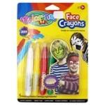 Крейда Colorino для обличчя олівці 5 кольорів