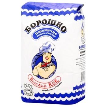 Мука Веселый Кок пшеничная 2кг