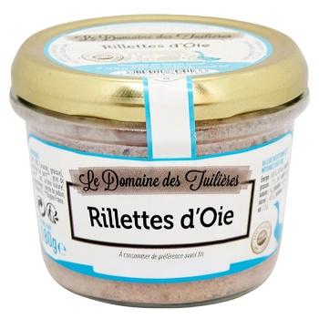 Рийет Le Domaine Des Tuileries Arnaud гусиный 180г - купить, цены на СитиМаркет - фото 1