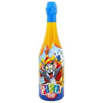 Детское шампанское Vitapress Tom and Jerry 0,75л - купить, цены на СитиМаркет - фото 1