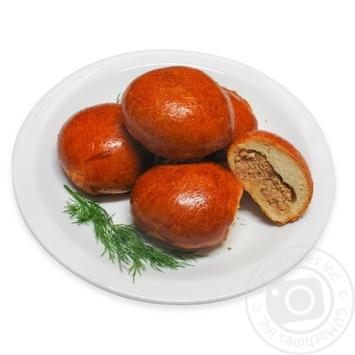 Пирожки печеные с мясом - купить, цены на МегаМаркет - фото 1