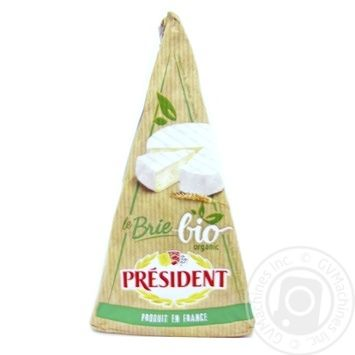 President Brie Organic Cheese 60% 200g
