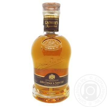 Виски Dewar`s Signature 40% 0,75л в коробке - купить, цены на МегаМаркет - фото 1