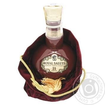 Royal Salute 21YO Whisky 700ml gift box