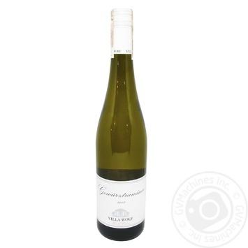 Вино Villa Wolf Gewurztaminer белое полусладкое 12% 0.75л - купить, цены на СитиМаркет - фото 1