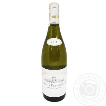 Вино Domaine du Colombier Chablis Premier Cru белое сухое 12.5% 0.75л - купить, цены на СитиМаркет - фото 1