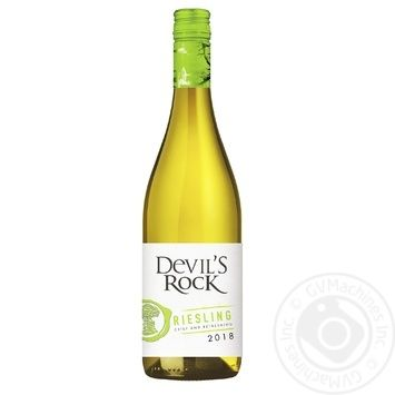Вино Devil's Rock Riesling белое сухое 12% 0,75л