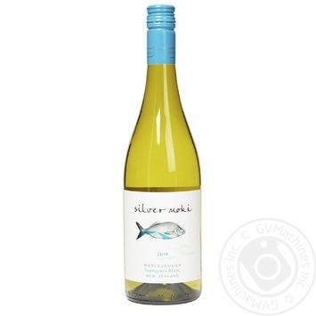 Silver Moki Sauvignon blanc Marlborough white dry wine 12% 0,75l