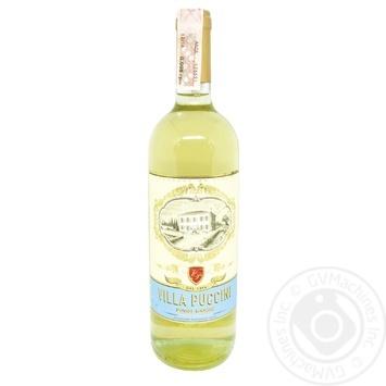 Villa Puccini Terre Siciliane Pinot Grigio IGT white dry wine 12% 0,75l
